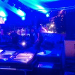 Monitors for Axl P 'big band' - bollekesfeesten
